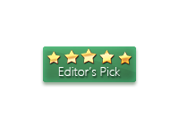 FindSoft.net editor's pick - 5 stars award